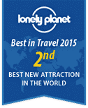 Lonely Planet Best In Travel 2015 2nd Place Graphic