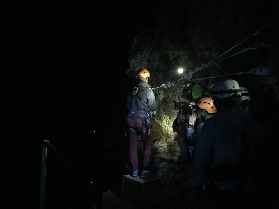 after swing bridge_cape canopy tour full moon zipline