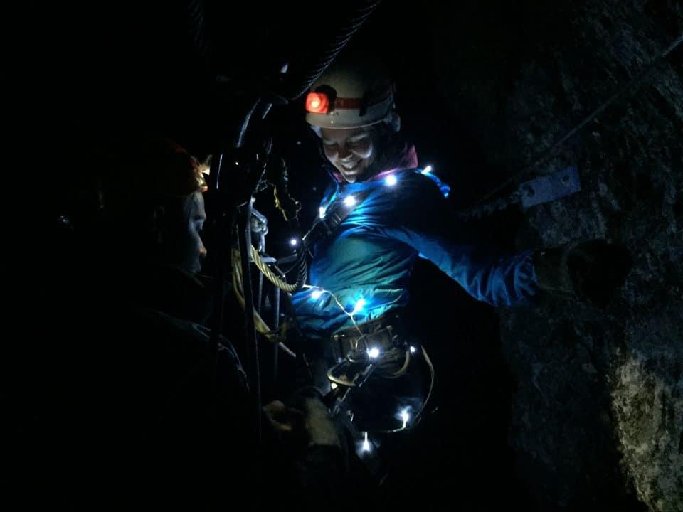 chritsmas lights_cape canopy tour full moon zipline