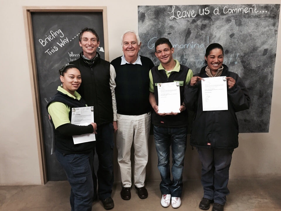 Celebrating success: 4 staff members accredited as FGASA Nature Guides